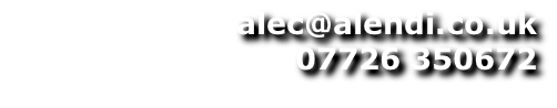 alec@alendi.co.uk 07726 350672